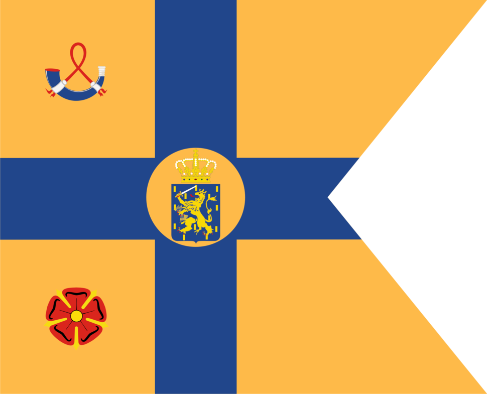 Standard of the Princesses of the Netherlands (Daughters of Queen Juliana)