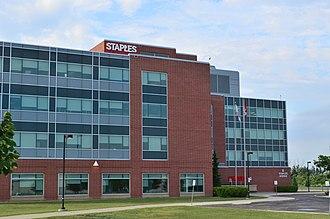 Staples Canada - Staples Canada Headquarters in Richmond Hill, Ontario