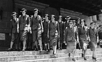 Australian Army Nursing Service - AANS nurses in Brisbane during 1940