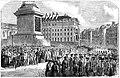 State funeral the Duke of Wellington, London 1852 - Trafalgar Square.jpg