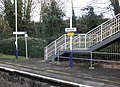 Station footbridge, Bruton - geograph.org.uk - 1588357.jpg