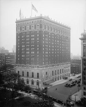 Statler Hotels - Image: Statler Detroit
