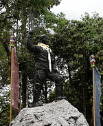 Statue of Tenzing Norgay at Himalayan Mountaineering Institute.jpg