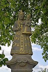 Statue of Virgin Mary of Bozkov in Horská Kamenice