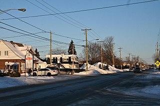 Sainte-Marthe-sur-le-Lac, Quebec City in Quebec, Canada