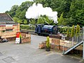 Steam Locomotive Princess at Lakeside Station, Cumbria-geograph-4002071.jpg