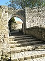 Step from the Barbican at Leeds Castle - geograph.org.uk - 1555782.jpg