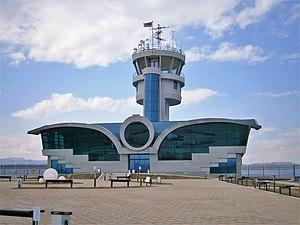 Stepanakert Airport - Image: Stepanakert Airport Daytime