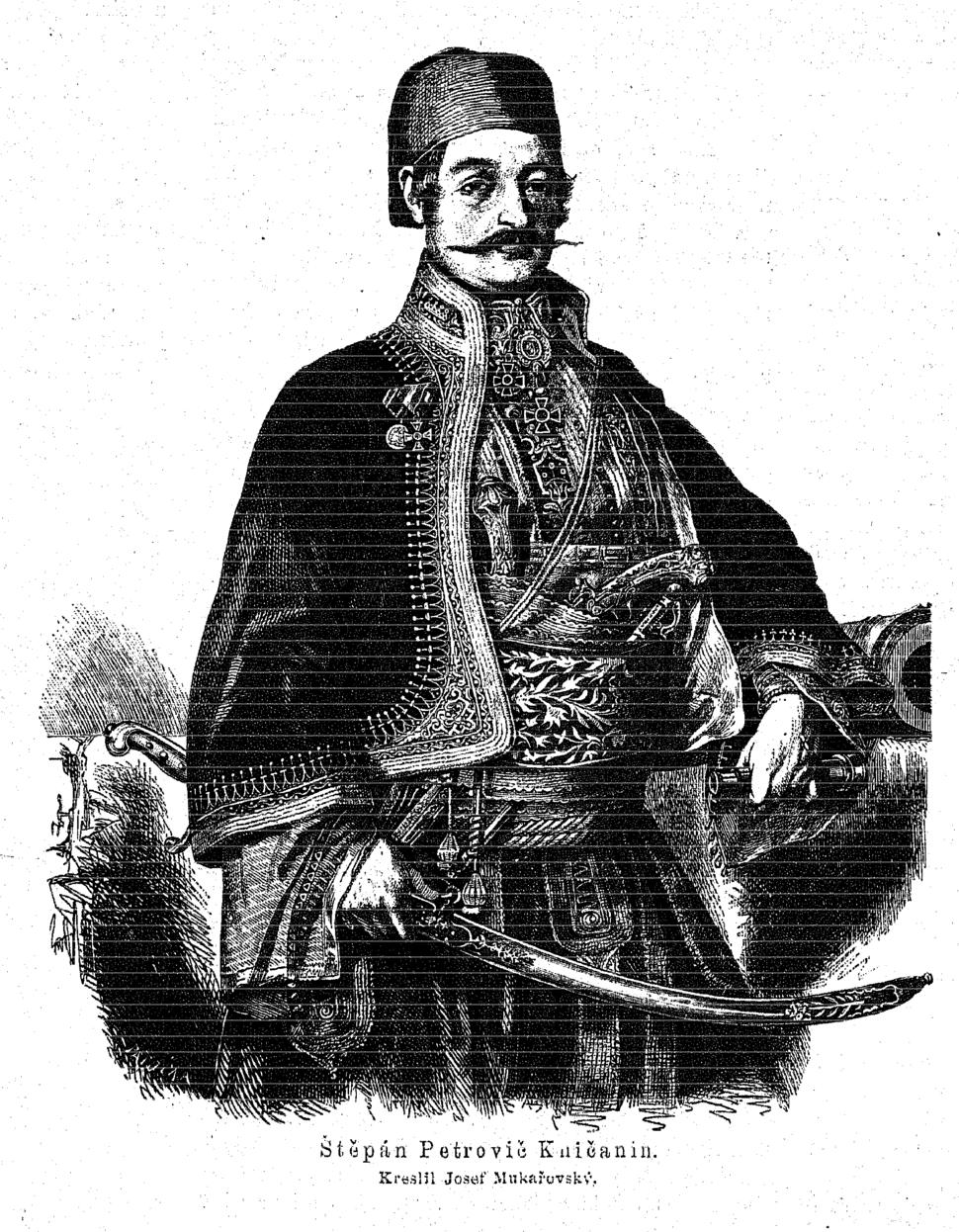 Stevan Petrovic Knicanin 1873 Mukarovsky