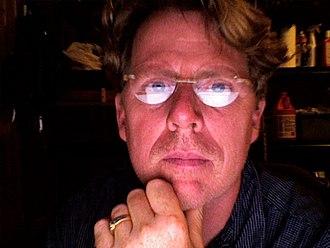 Steven Gould - Webcam self-portrait, 2006