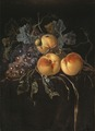 Still Life with Peaches and Grapes (Willem van Aelst) - Nationalmuseum - 17252.tif