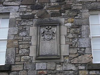 Stirling Castle Palace siege plaque.jpg