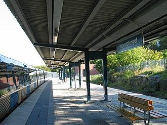 Islandstorget metro station - Image: Stockholm subway islandstorget 20060913 001