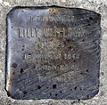 Stolperstein Almstadtstr 19 (Mitte) Lilly Witelson.jpg