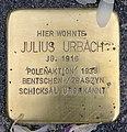Stolperstein Karl-Marx-Allee 45 (Mitte) Julius Urbach.jpg