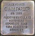 Stolperstein Karlsruhe Färber Chaim.jpeg