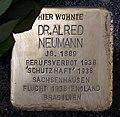 Stolperstein Motzstr 52 (Schön) Alfred Neumann.jpg