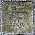 Stolperstein Templiner Str 5 (Prenz) Josef Zeisler.jpg