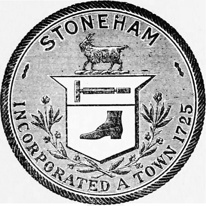 Official seal of Stoneham, Massachusetts