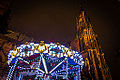 Strasbourg marché de Noël place de la Cathédrale 5 décembre 2014 02.jpg