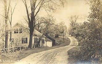 Langdon, New Hampshire - Image: Street Scene, Langdon, NH