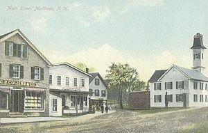 Marlborough, New Hampshire - Main Street in 1910