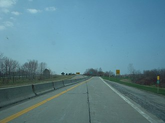 Lake Ontario State Parkway - A stub at the parkway's west end, a remnant of the original plans to extend the highway farther west