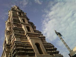Biccavolu town in Andhra Pradesh, India
