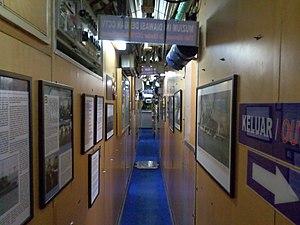 Submarine Museum - Submarine interior