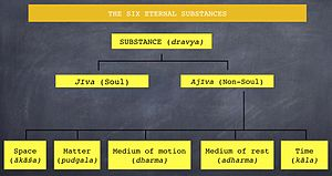 Dravya - Classification of the six eternal substances