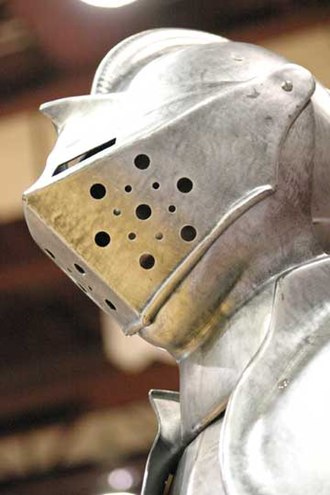 Lone Peak High School - Image: Suit of armor from Lone Peak High School