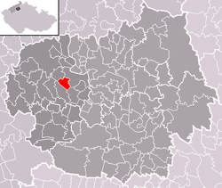Location of Sulejovice