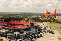 Sun Life Stadium Coast Guard flyover.JPG