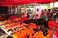 Sunday market at Calvisson. Much fruit and vegetables and almost no tourists - panoramio.jpg