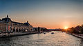 Sunset on the Seine, Paris 2013.jpg