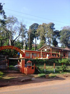 Suntikoppa - Ayyappa Swamy Temple on Mysore Road