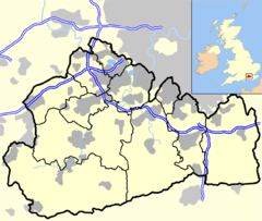 Epsom is located in Surrey