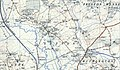 Sutton, Herefordshire, OS 1 to 25,000 map of Great Britain, 1950.jpg