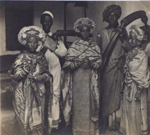 John Kirk (explorer) - Image: Swahili women in gala dress