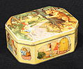 Sweets tin with red riding hood drawings, (England), pic7.JPG