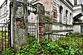 Syas'stroy. Yakovlev mansion (house of the merchant V. I. Kalina). Facade and fence with a gate.jpg