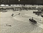 Sydney Harbour Bridge - Rail for Painting Gantry (7653425520).jpg