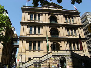 Sydney Hospital - Sydney Hospital from Macquarie Street