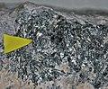 Sylvanite (Spotted Horse Mine, Lewistown, Montana, USA) 1.jpg