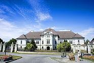 Szécsény - The Baroque building of the Palace Forgách