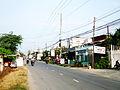 Tỉnh lộ 941 ở chợ Cần Đăng.jpg