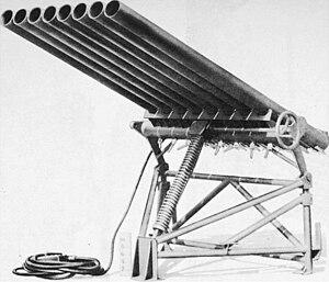M8 (rocket) - Image: T27 rocket launcher OS 9 69 pg 092