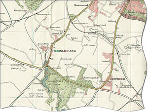 Map of Giffnock in 1923