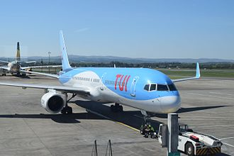 TUI Airways - TUI Airways Boeing 757-200 wearing the current titles