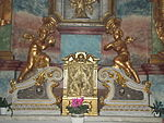 Tabernacle. Altar of Immaculata. Church of Saint Francis. Listed ID 41. - Budapest.JPG